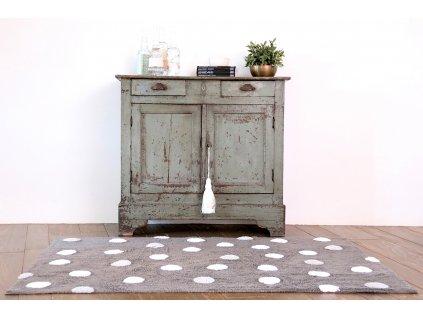 Prateľný koberec Topos Grey 120x60