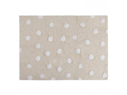 Prateľný koberec Topos Crema 120x60
