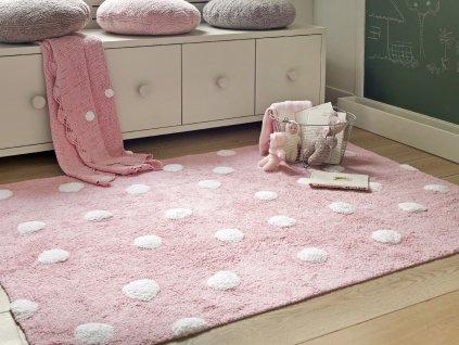 Prateľný koberec Topos Rosa 120x60