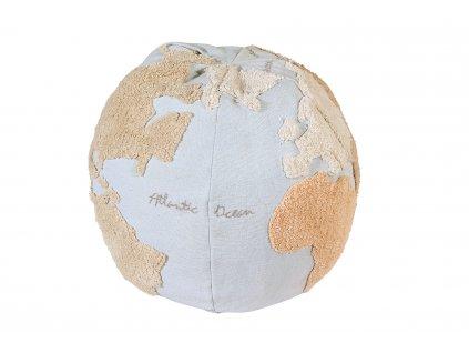 Puf na sedenie World Map