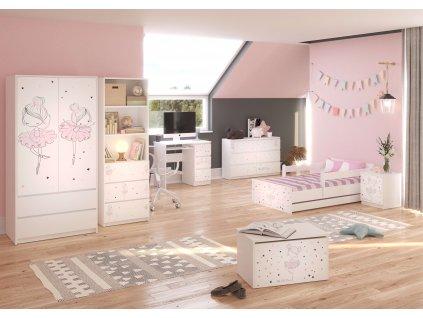 Detská izba Ballerina 160x80