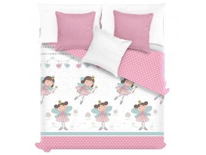 Prehoz na detskú posteľ Princess