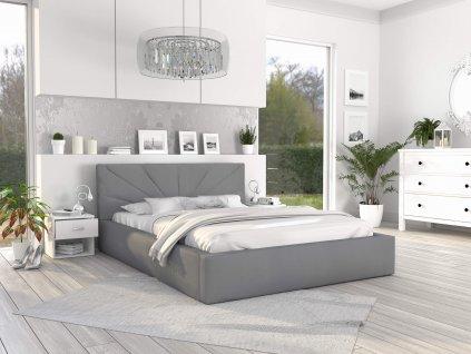 Čalúnená manželská posteľ Gabina