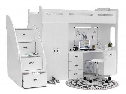 Multifunkčná poschodová posteľ Max Plus