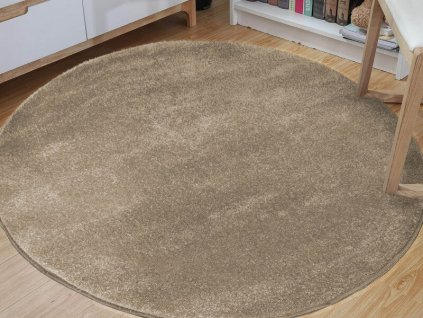 Okrúhly koberec Lora Beige