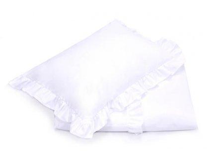 Bavlnené obliečky Royal (120x90+60x40) - biela