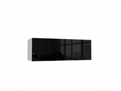Závesná skrinka Toby 100 - čierna