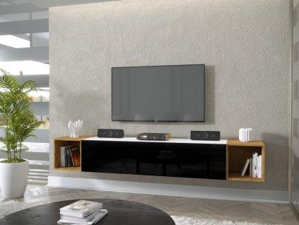 Obývacia stena Toby-čierna