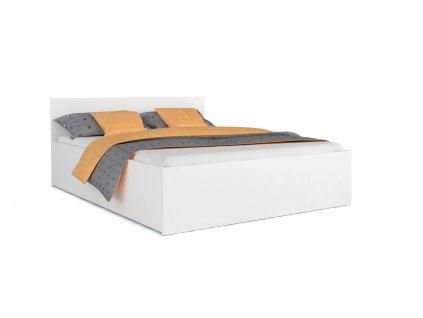 Manželská posteľ Dolly - biela