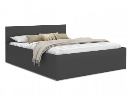 Manželská posteľ Dolly - grafit
