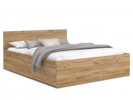 Manželská posteľ Dolly - dub craft