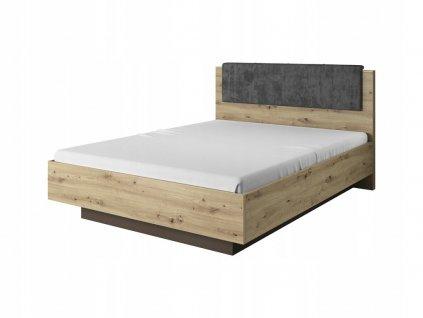 Manželská posteľ Penny 200x160 - dub