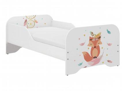 Detská posteľ Palermo 160x80 - líška
