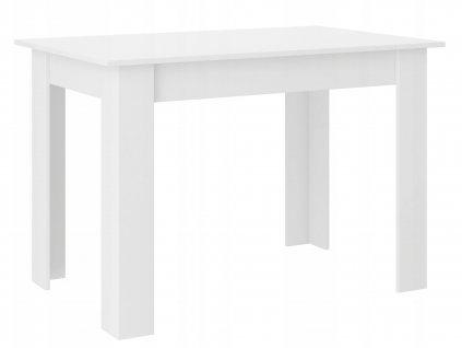 Jedálenský stôl Cali - biela