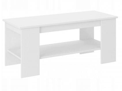 Konferenčný stolík Cali A4 - biela