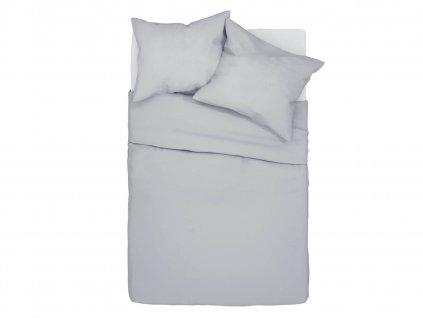 Bavlnené obliečky Klarisa - sivé