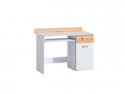 Písací stôl LUCAS L10 - biela