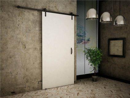 Posuvné dvere Clark 80/90/100 - biela