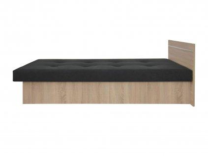 Jednolôžková posteľ Emily Plus dub sonoma
