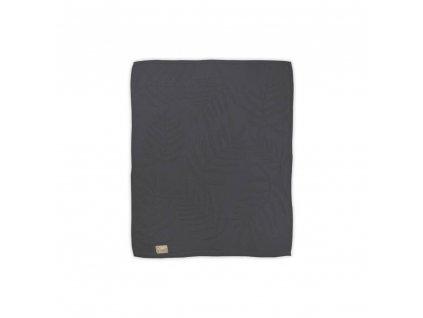 Bavlnená deka Albero Mio 80x100 - grafit