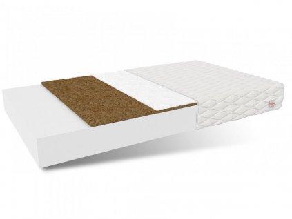 Penový matrac Karmel s kokosom 200x140