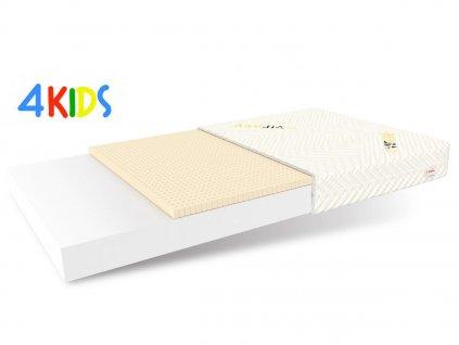 Detský penový matrac Protex 140x70