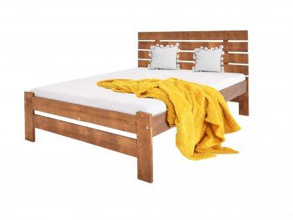 Manželská posteľ Lula - dub