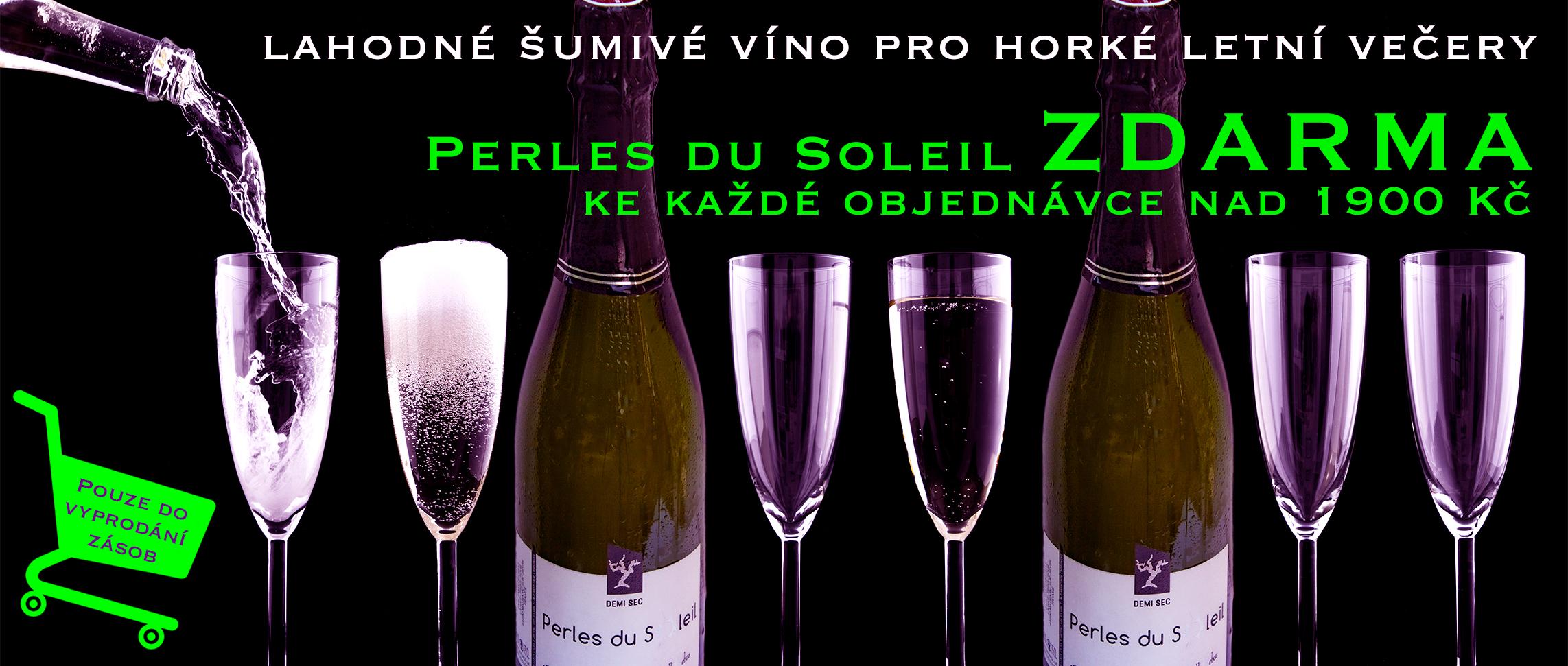 Perles du Soleil - šumivé víno pro horké letní večery