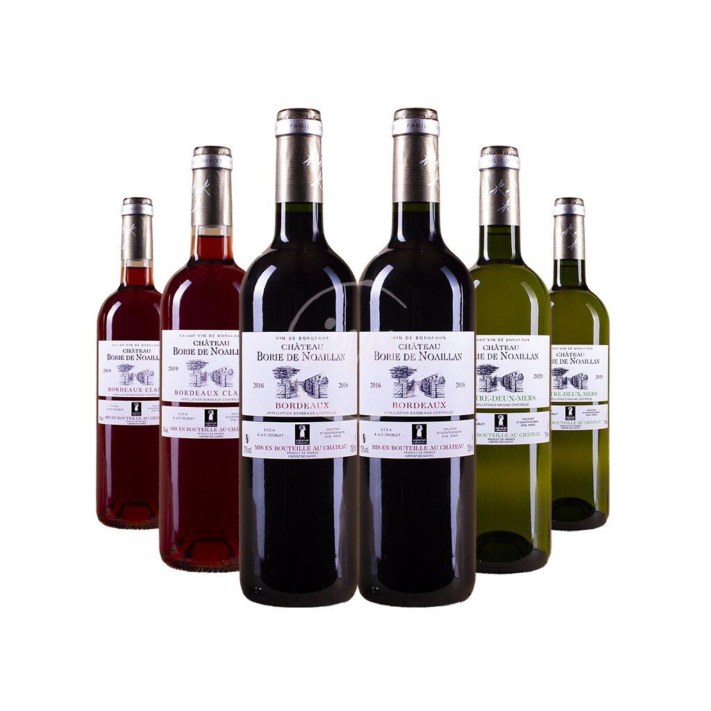 Degustační set - 6x Bordeaux výhodně