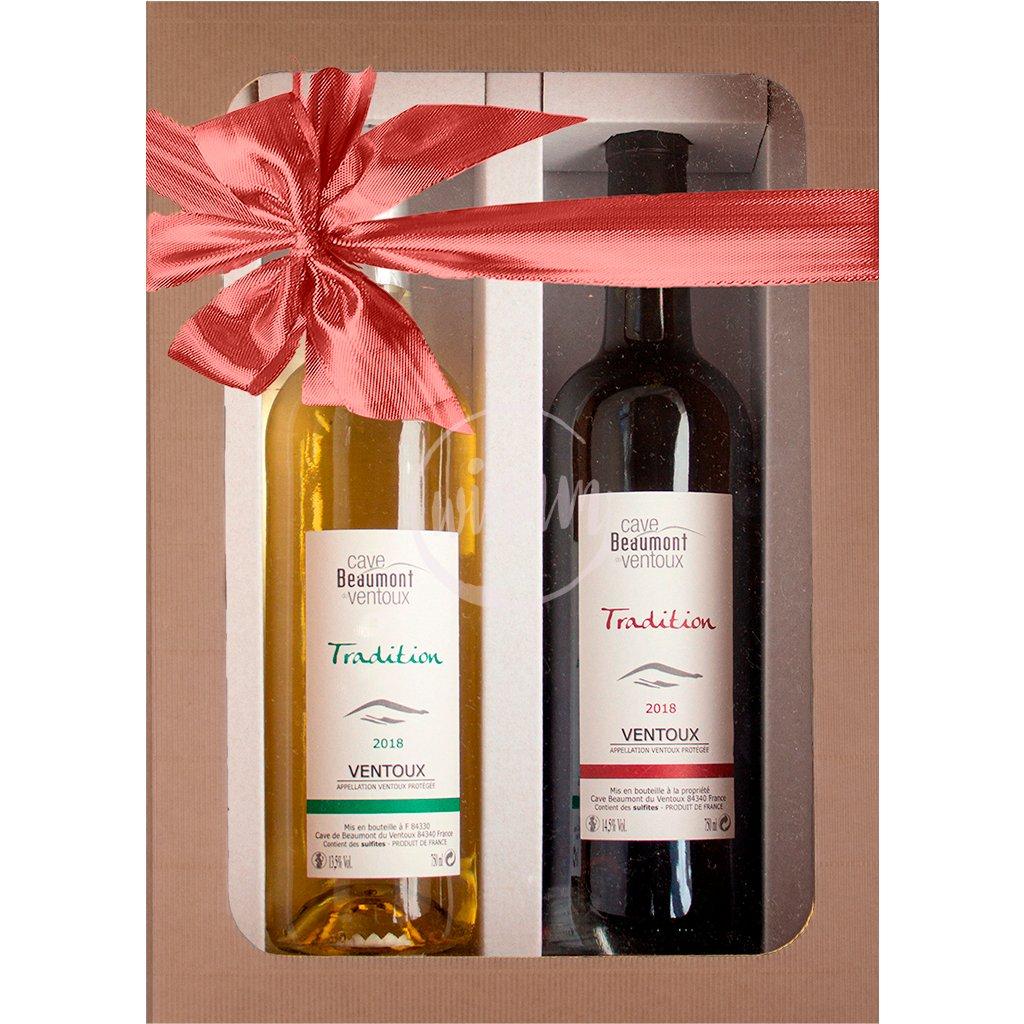 Duo francouzských vín v dárkovém balení