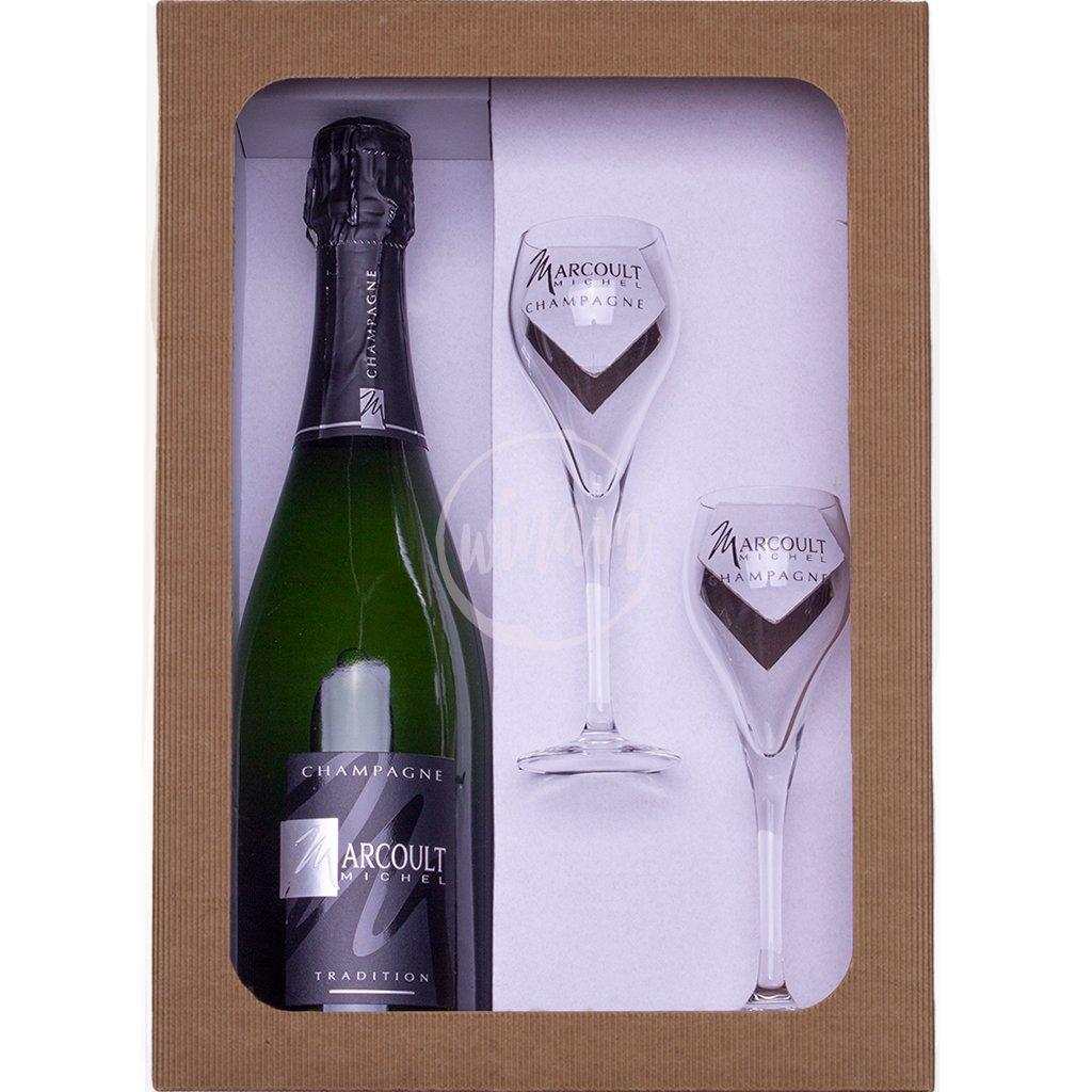 Polosuché šampaňské - dárkový set