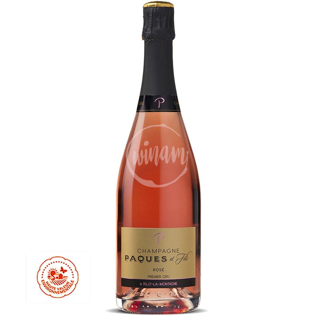 Růžové šampaňské - Champagne Paques