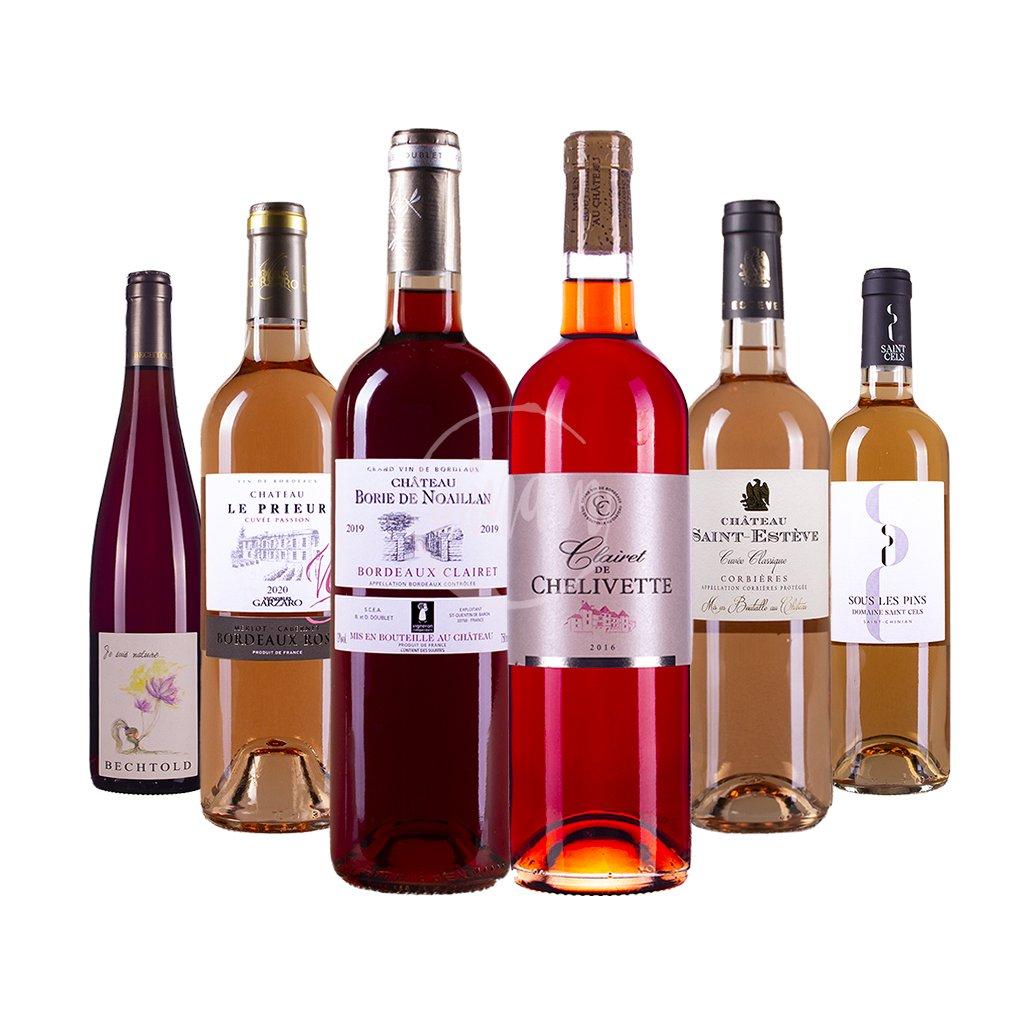 Balíček růžových vín pro objevitele
