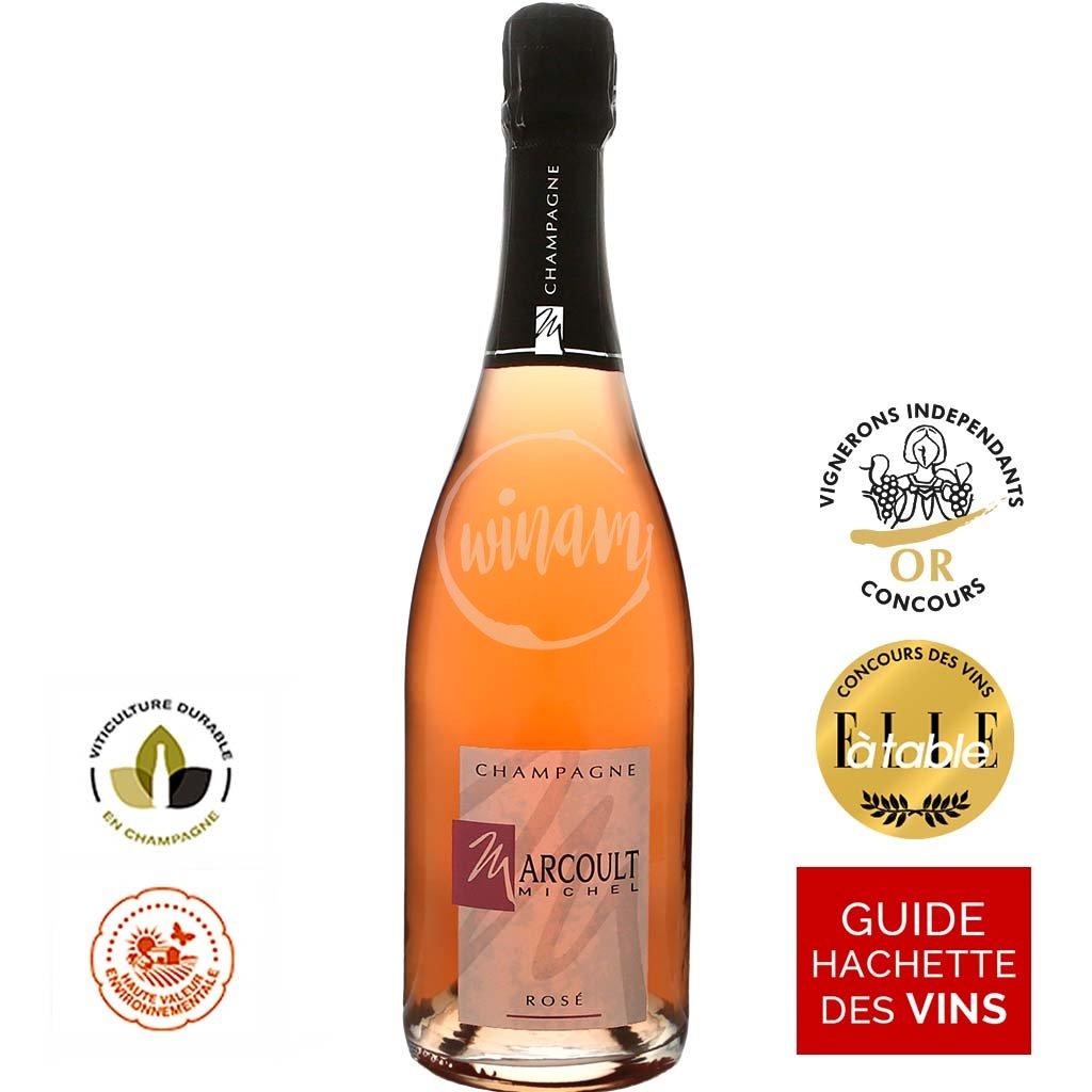 Růžové šampaňské výhodně