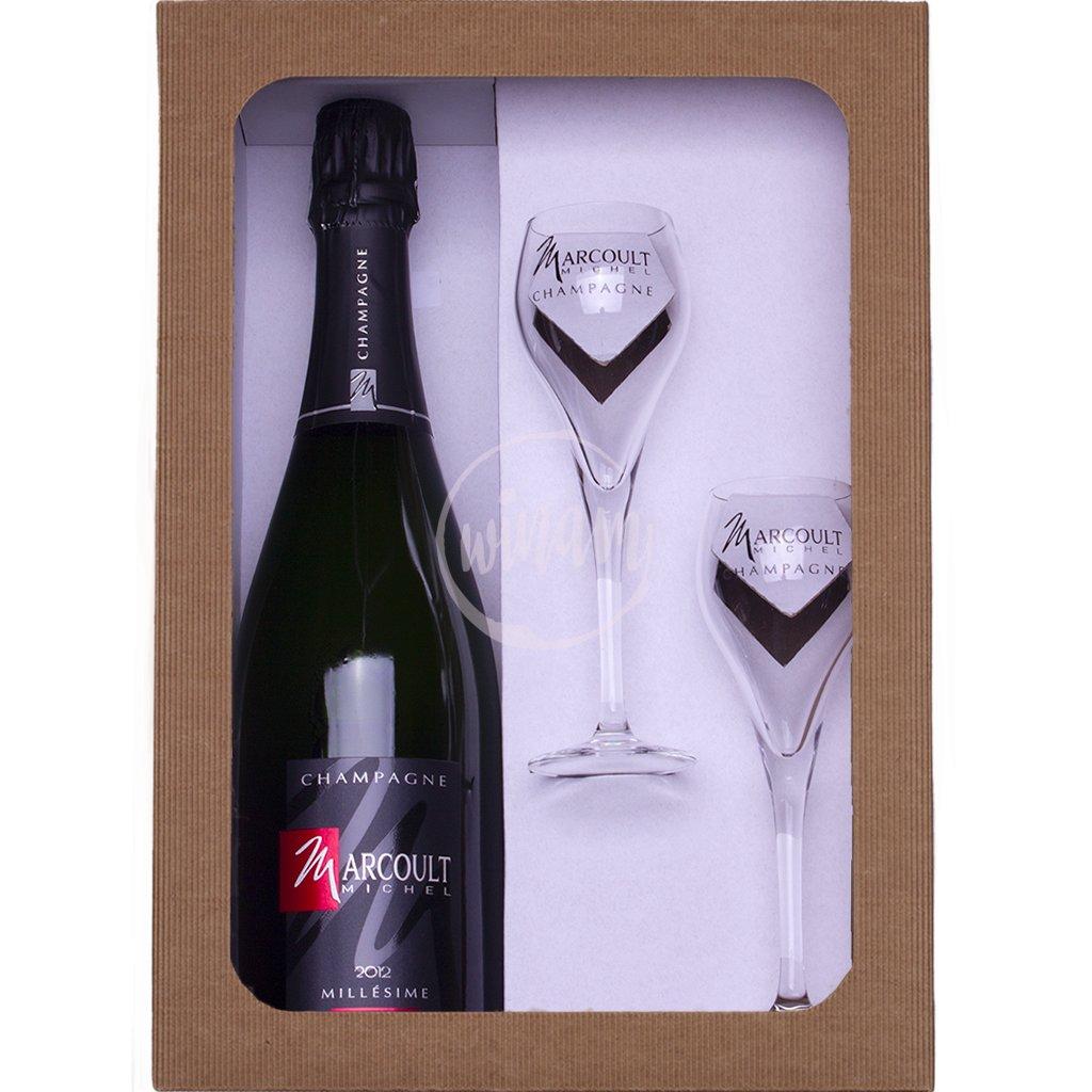 Ročníkové šampaňské jako dárek