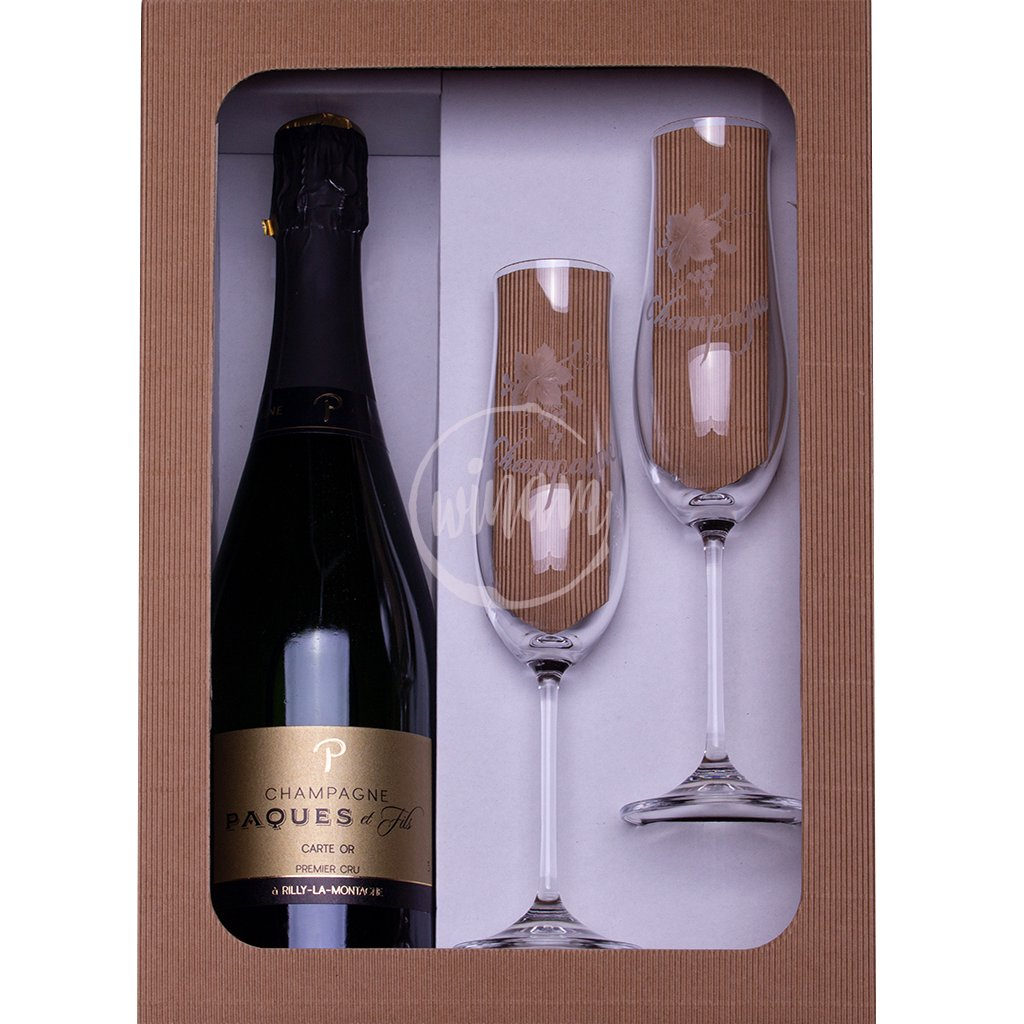 Exkluzivní polosuché šampaňské jako dárek