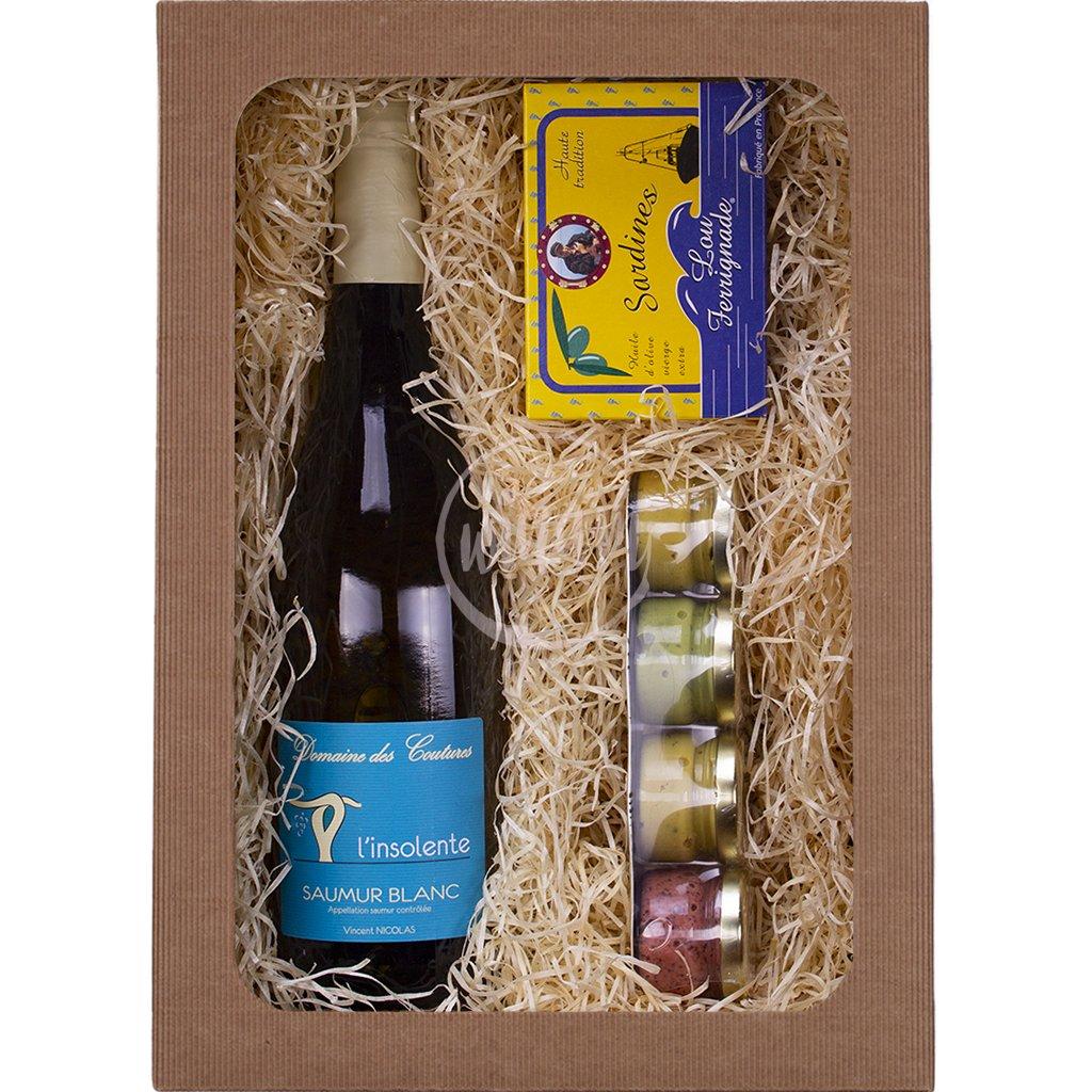 Francouzské víno jako dárek