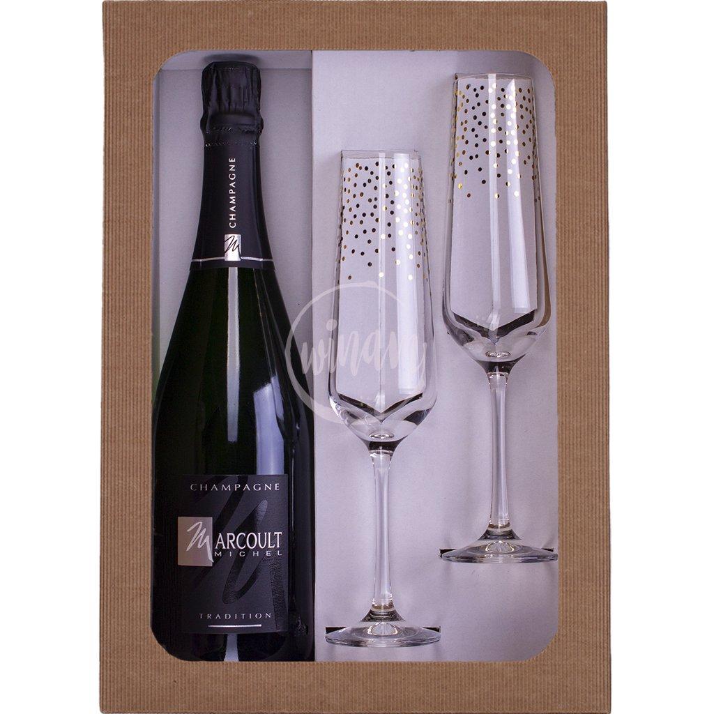 Dárkové šampaňské - Demi Sec