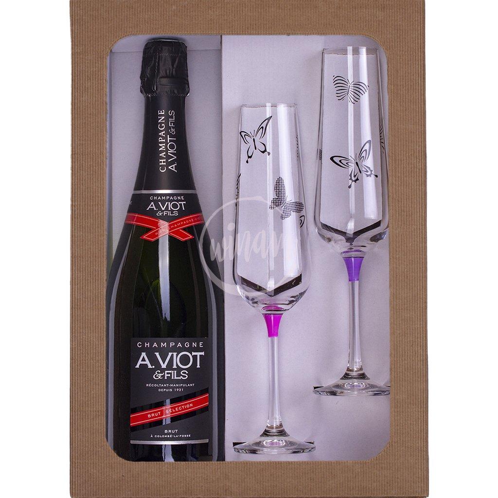 Šampaňské jako dárek