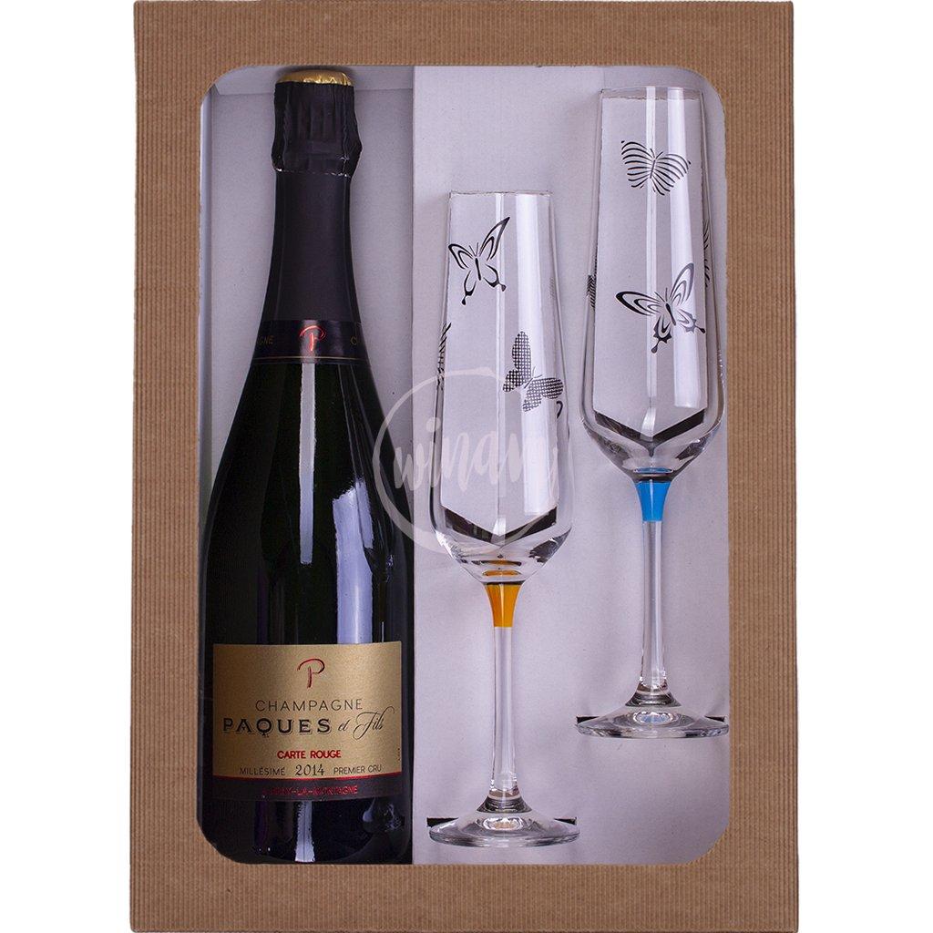 Luxusní šampaňské jako dárek