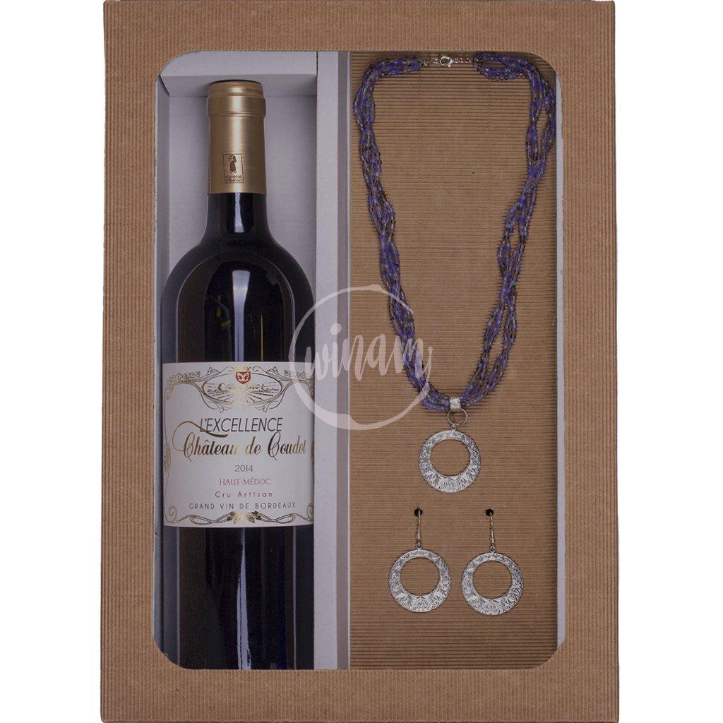 Luxusní víno v dárkovém balení
