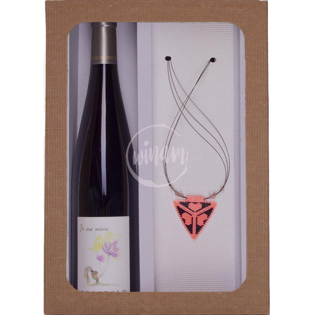 Dárkové víno z biodynamického vinařství