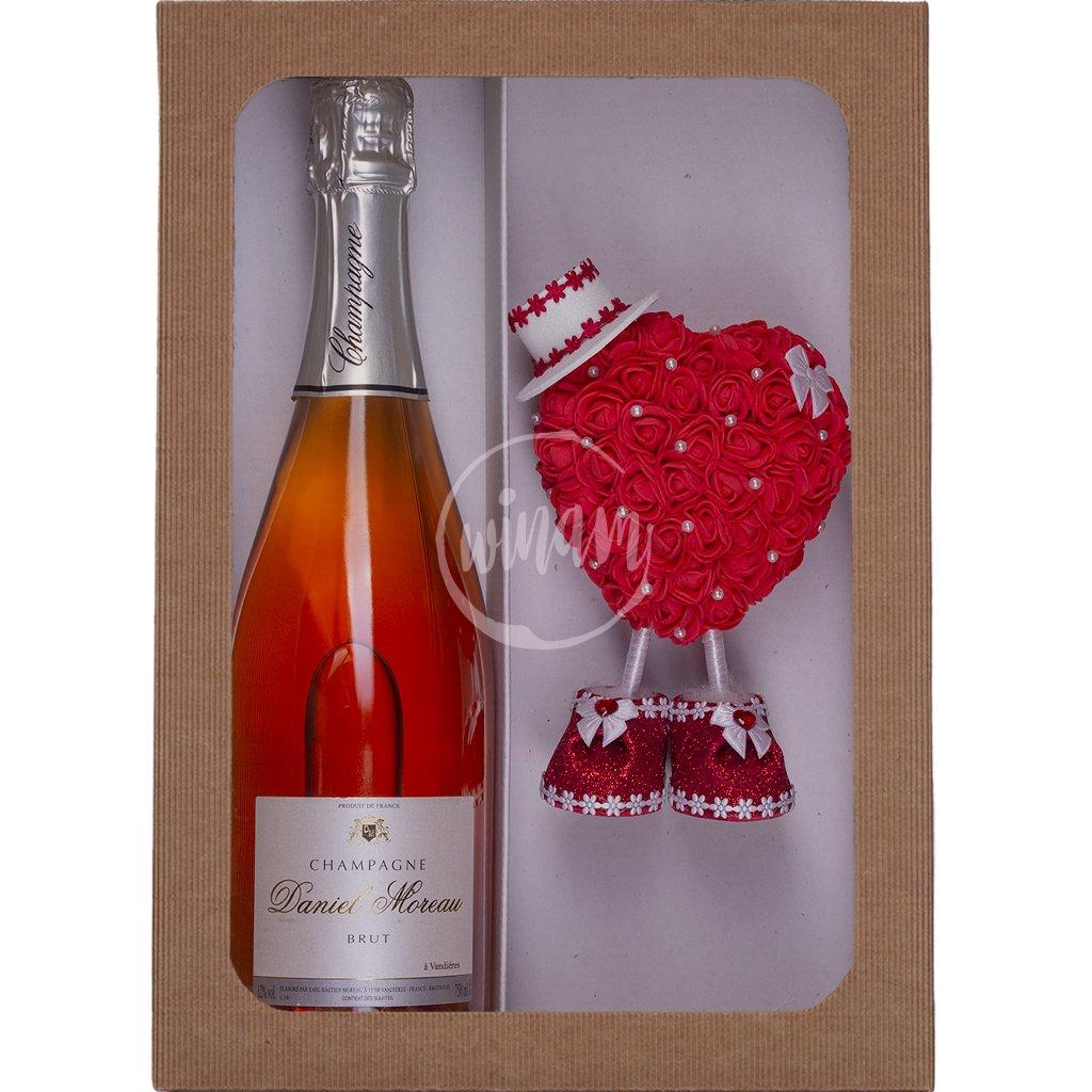 Šampaňské k Valentýnu