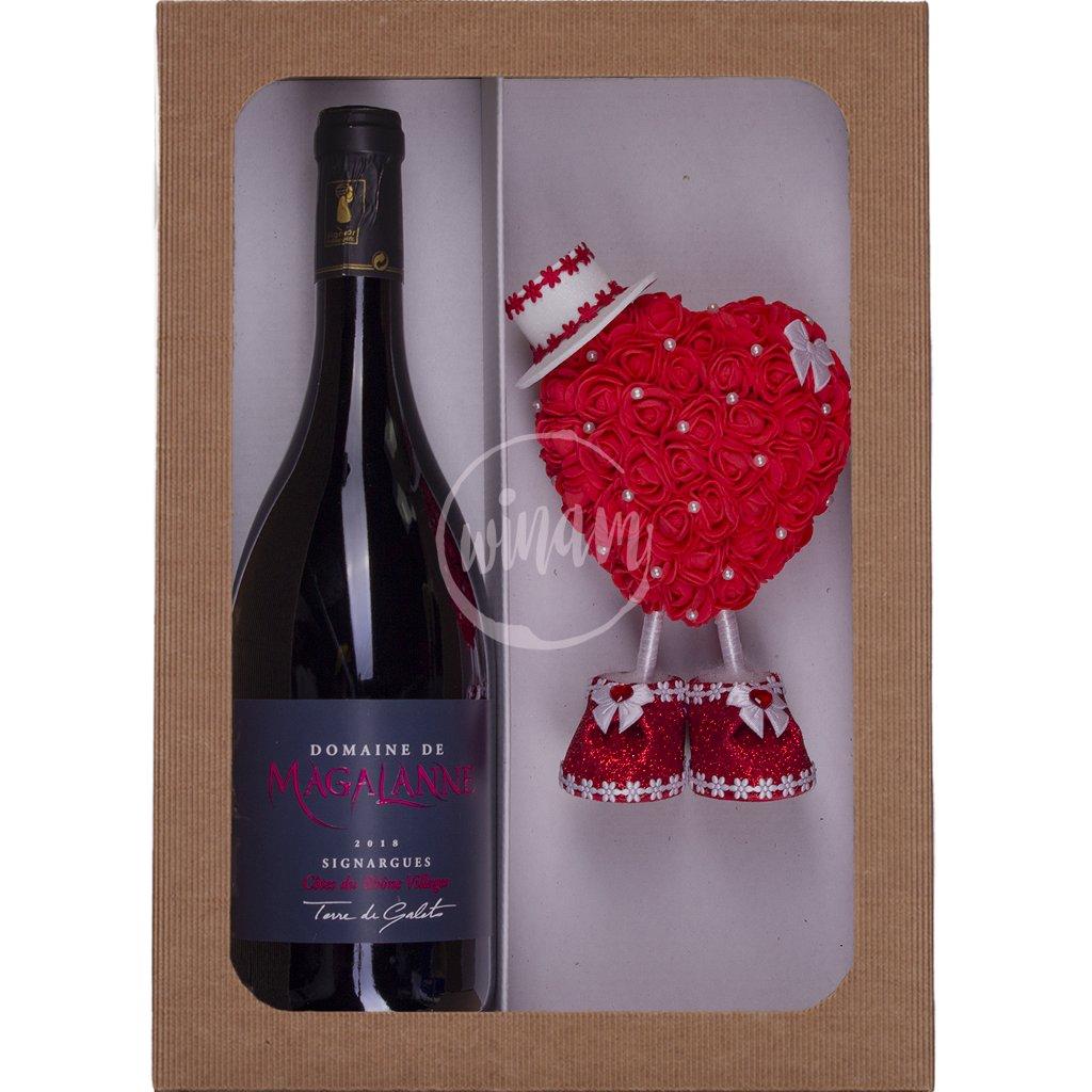 Dárkové víno k Valentýnu