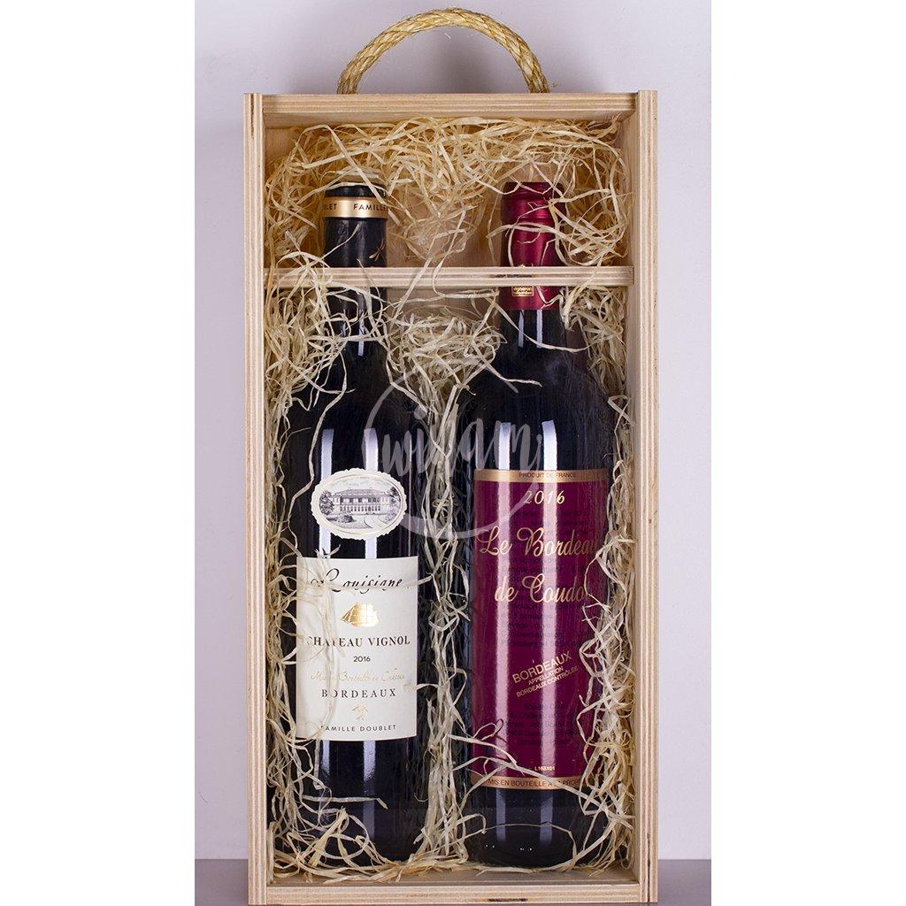 Dárková vína z Bordeaux
