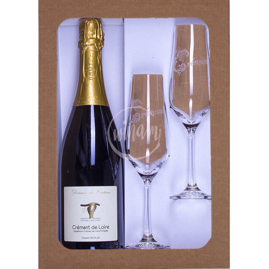 Víno jako dárek - Crémant z Loiry