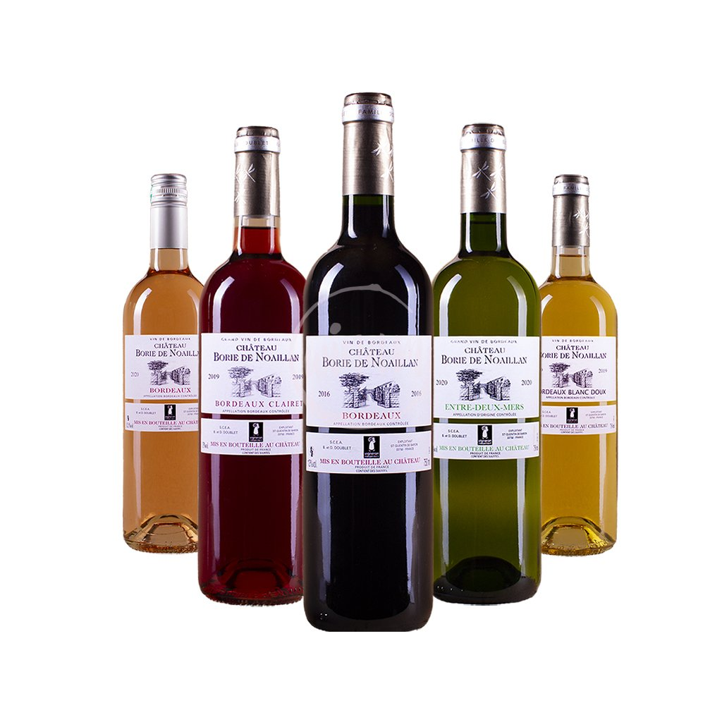 Degustační balíček - všechny barvy Bordeaux