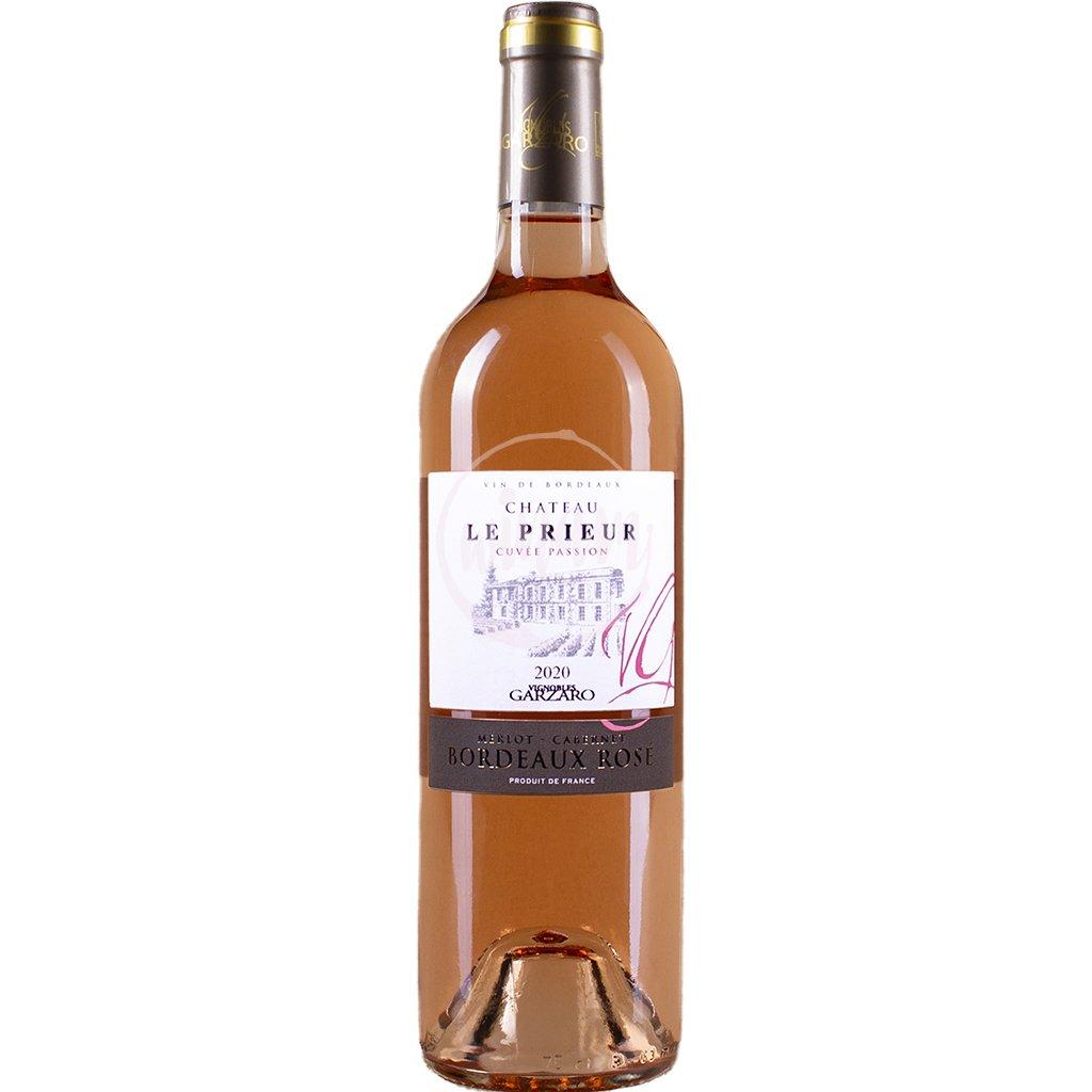 Růžové víno z Bordeaux