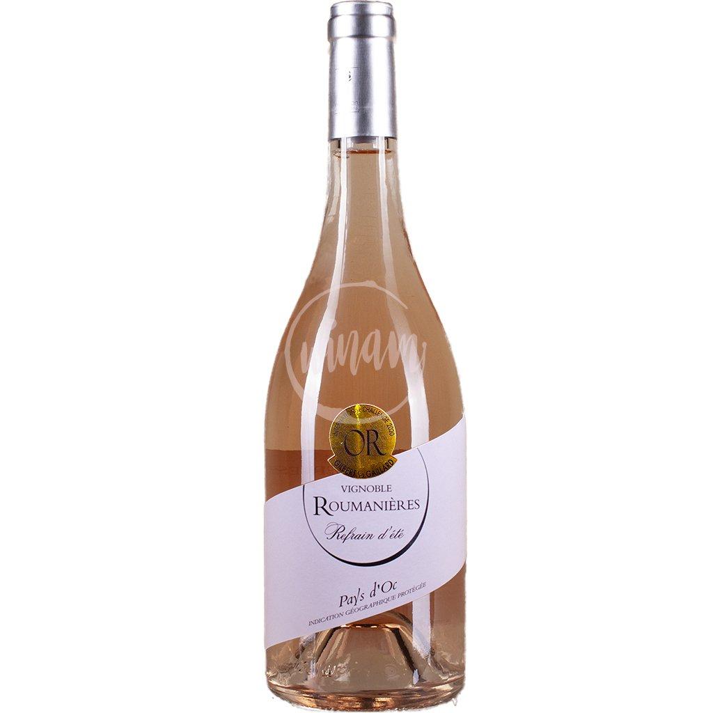 Růžové víno z Francie