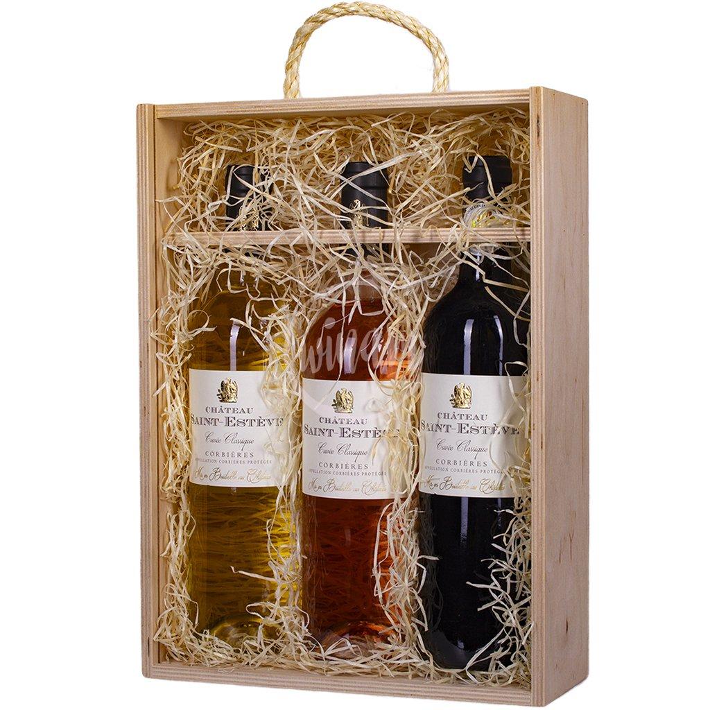 Dárková kazeta vín z Langudeocu